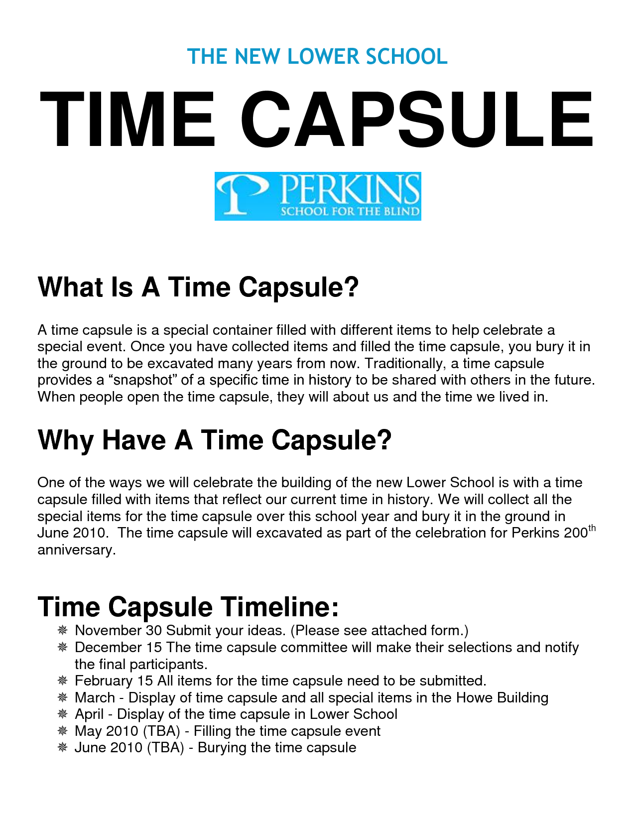 Time capsule ideas | PTA | Pinterest | Ideas, Time capsule and Search