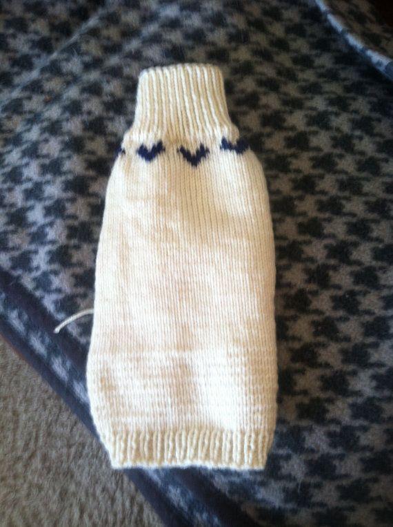 Dog or Cat sweater xxs long sleeve turtleneck by Woolycricket ...