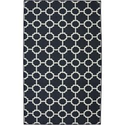 Concord Barrington Navy Rectangular: 3 Ft 4 In x 5 Ft Rug