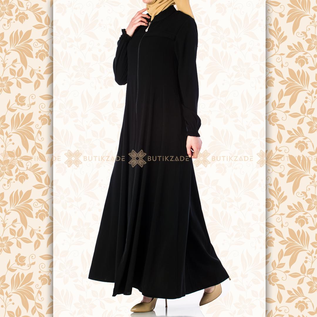 Mevlana Model Siyah Ferace Dresses With Sleeves Long Sleeve Dress Fashion