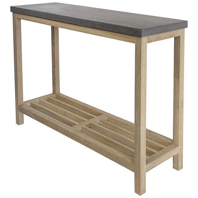 Design Project by John Lewis No.022 Console Table, Oak | Pinterest
