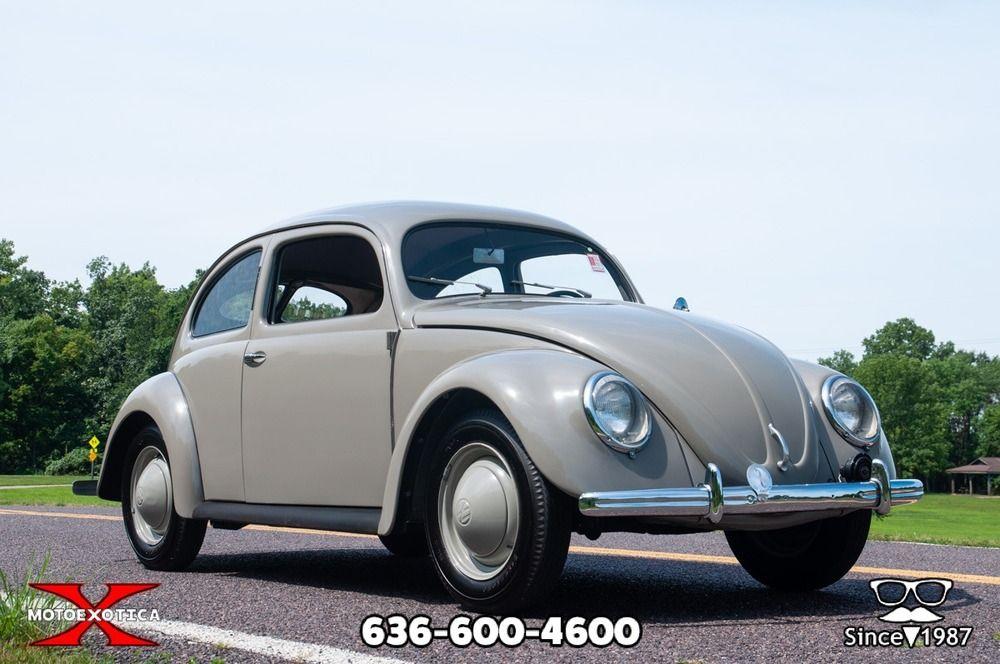 1952 Volkswagen Beetle Split Window Volkswagen Beetle Volkswagen Classic Cars