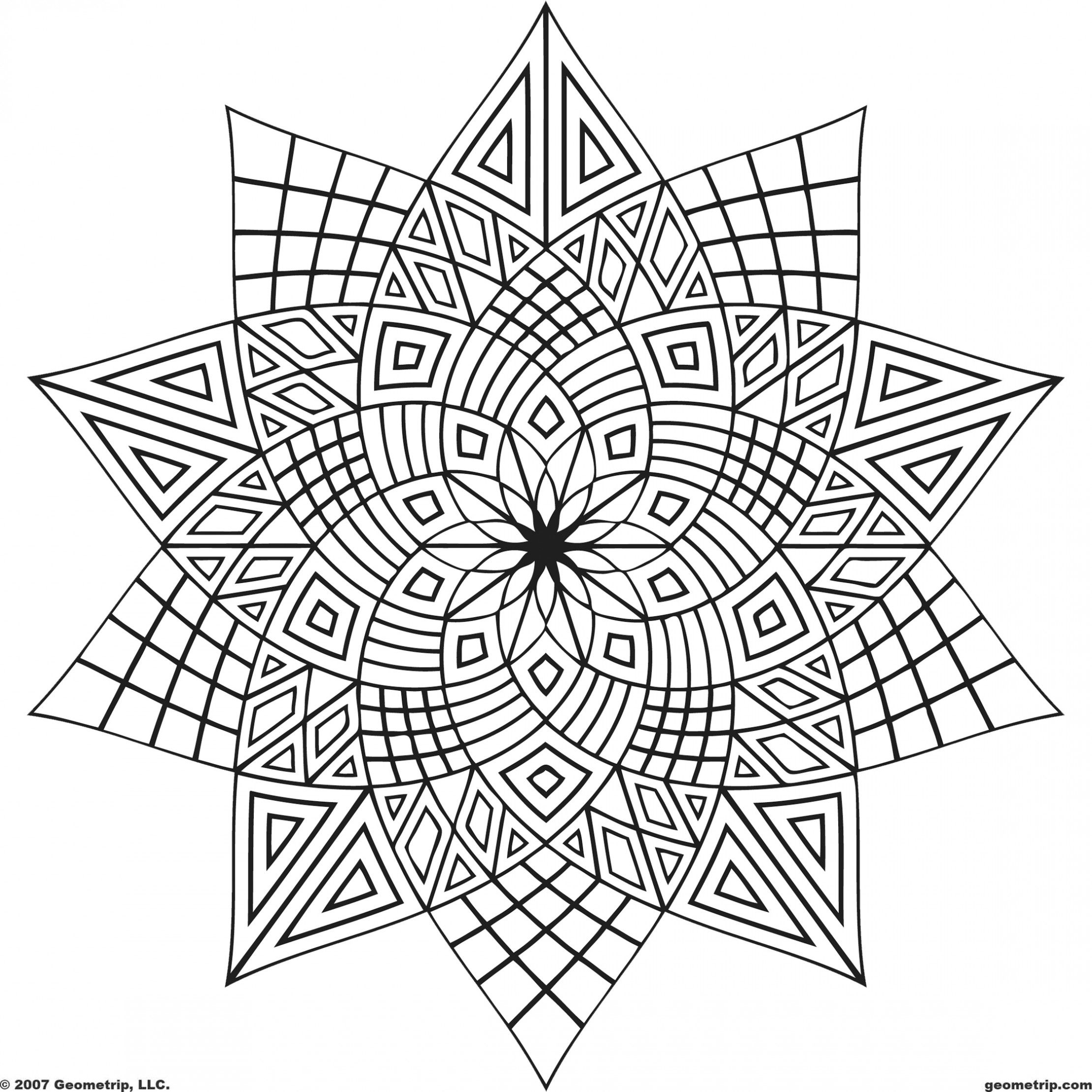 Coloring pages for 9 and up - Http Www Blogcoloringpages Com Wp Content Uploads Geometric Coloring Pages E1366410651833 Jpg Coloring Designs Pinterest Picture Photo
