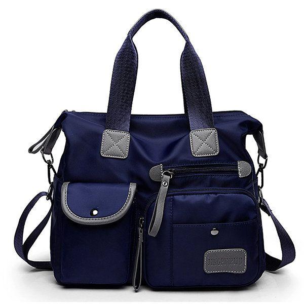 9469ee000dce Bagail Women Nylon Waterproof Large Capacity Handbag Shoulder Bag Crossbody  Bags