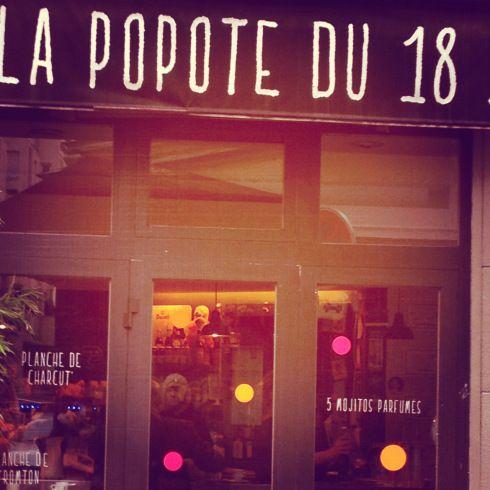 La Popote du 18 (Paris)    http://bobosvoientdouble.wordpress.com/2013/01/09/brunch-la-popote-du-18-paris/