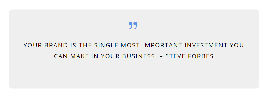 Steve Forbes Brand Quote  Web Marketing