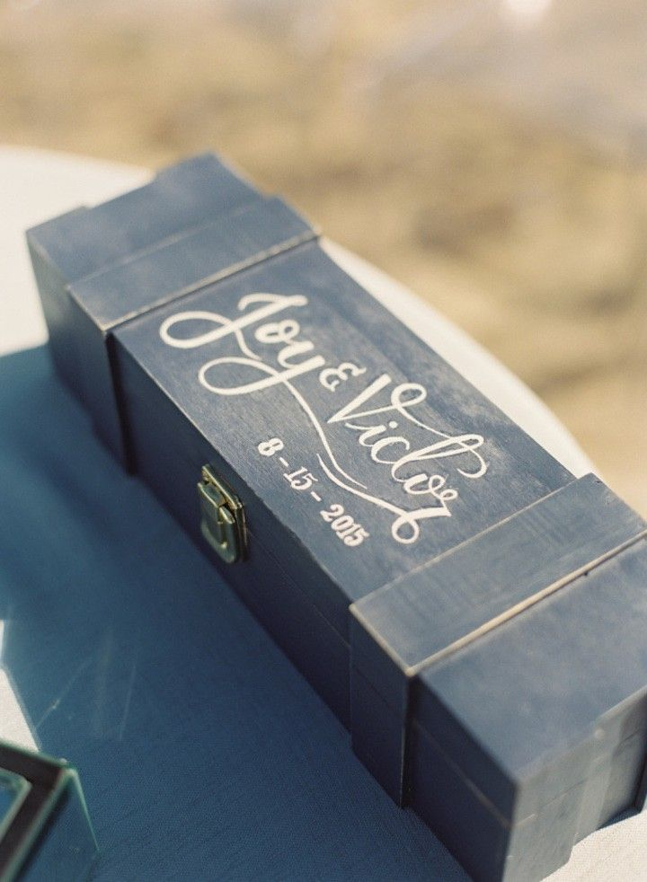 Wedding Time capsule wedding box