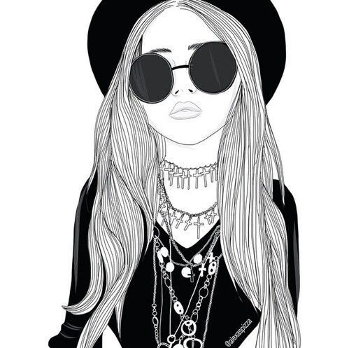 Gangsta girl drawings tumblr
