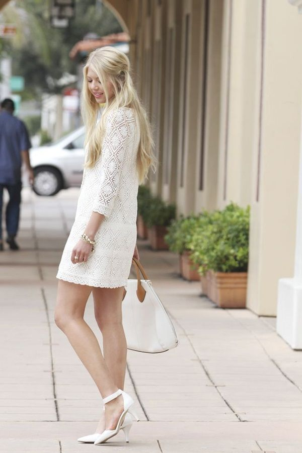 Extraordinary Lace Dress Outfits 3