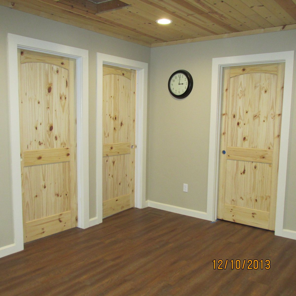 White interior doors with wood trim - Find This Pin And More On Interior Doors