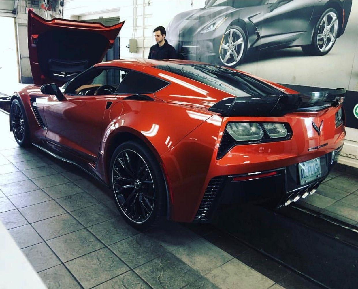 Chevrolet Corvette C7 Z06 Coupe Painted In Daytona Sunrise Orange Photo Taken By Allflashz06 On Instagram Chevrolet Corvette C7 Chevrolet Corvette Corvette