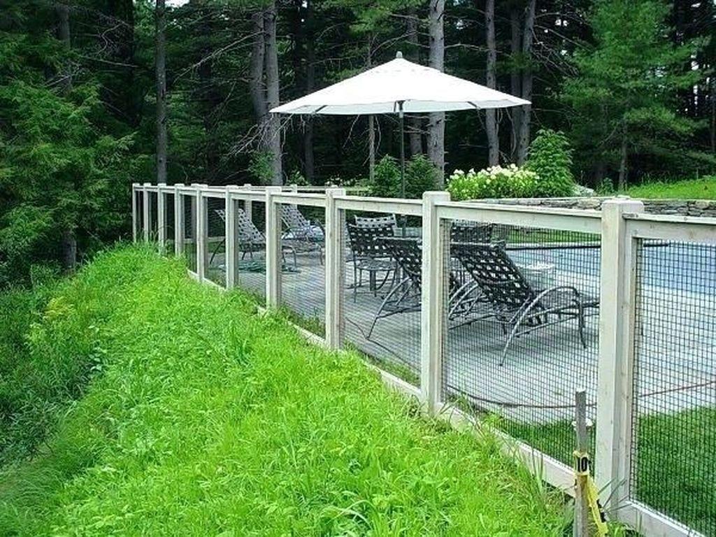 32 Awesome Stylish Pool Fence Design Ideas Fence around