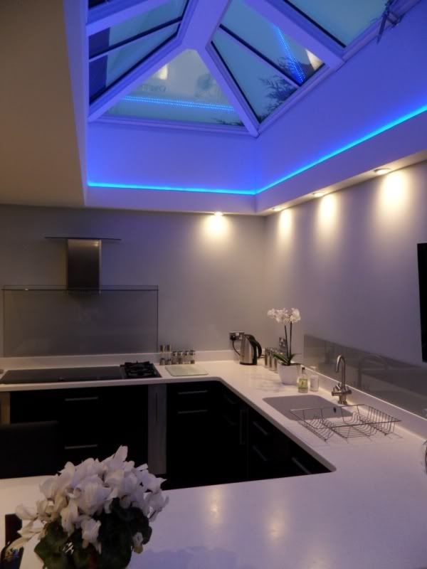 Skylight Lighting Ideas. Skylight Colour Changing Led Strip Lighting Ideas .