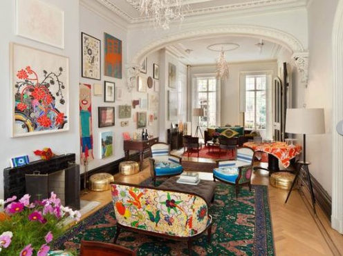 colorful and eclectic!