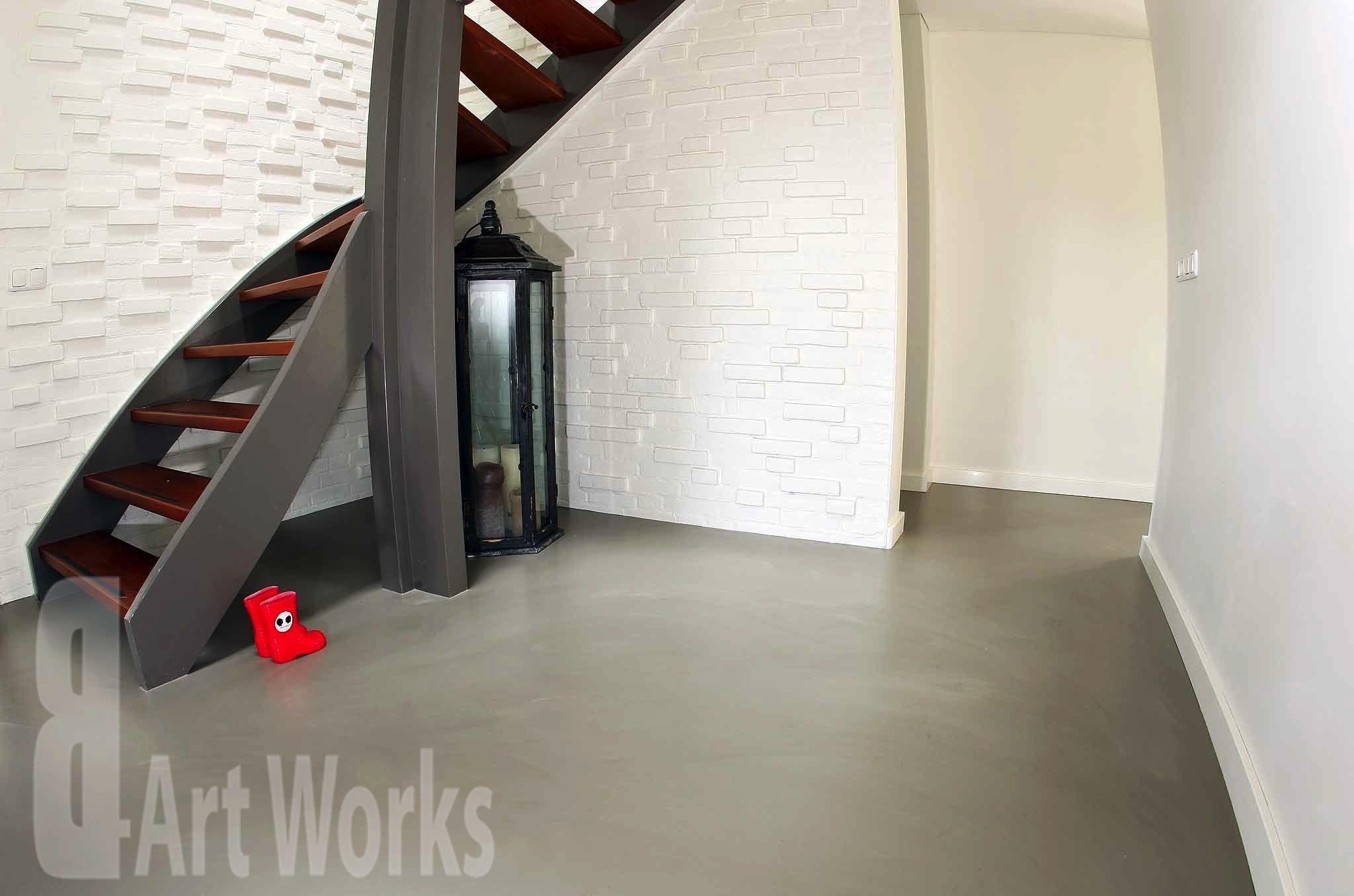 duo art gietvloer polyurethaan kantoorruimte real estate te
