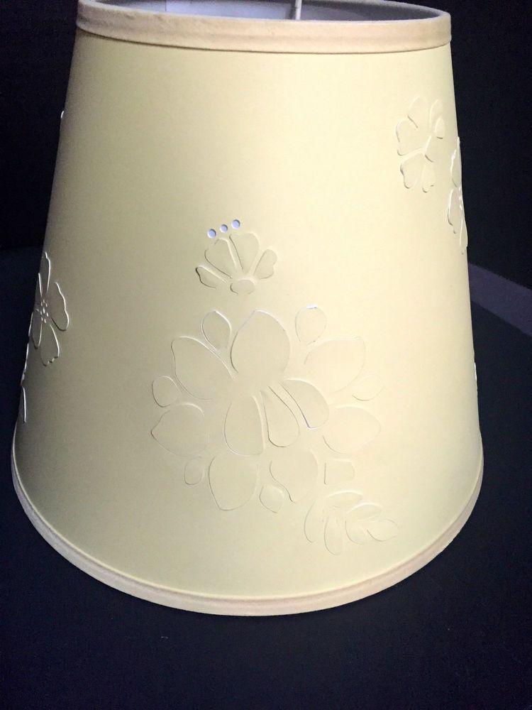 Pottery barn kids yellow flower lampshade nursery lamp shade bedroom pottery barn kids yellow flower lampshade nursery lamp shade bedroom kitty daisy aloadofball Images