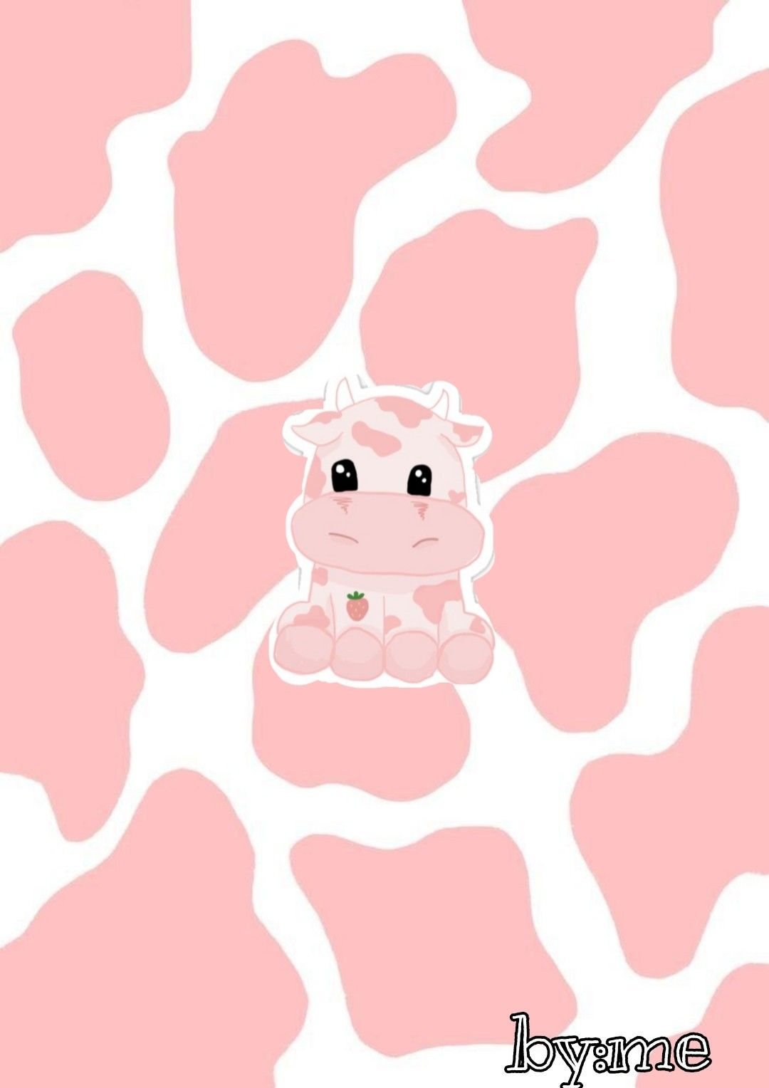 Cow Pink Cow Wallpaper Animal Print Wallpaper Cute Patterns Wallpaper
