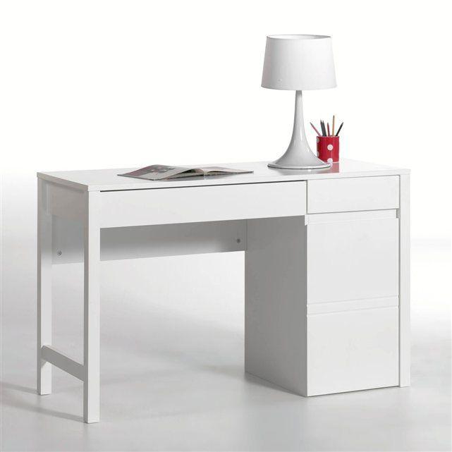 bureau leeds la redoute interieurs blanc chambre. Black Bedroom Furniture Sets. Home Design Ideas
