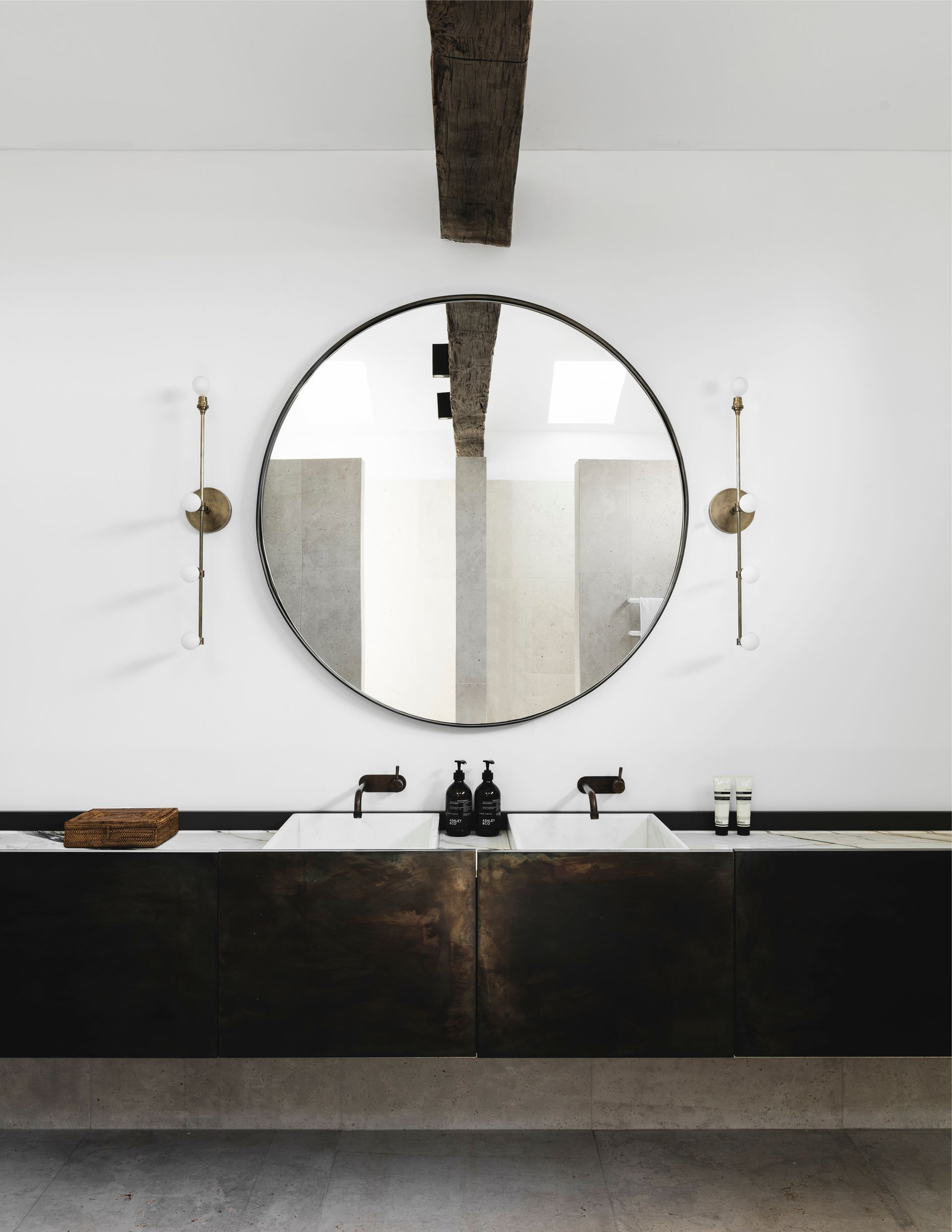 bathrooms industrial best white gallery decoration creative bathroom modern vanity australia timber accent