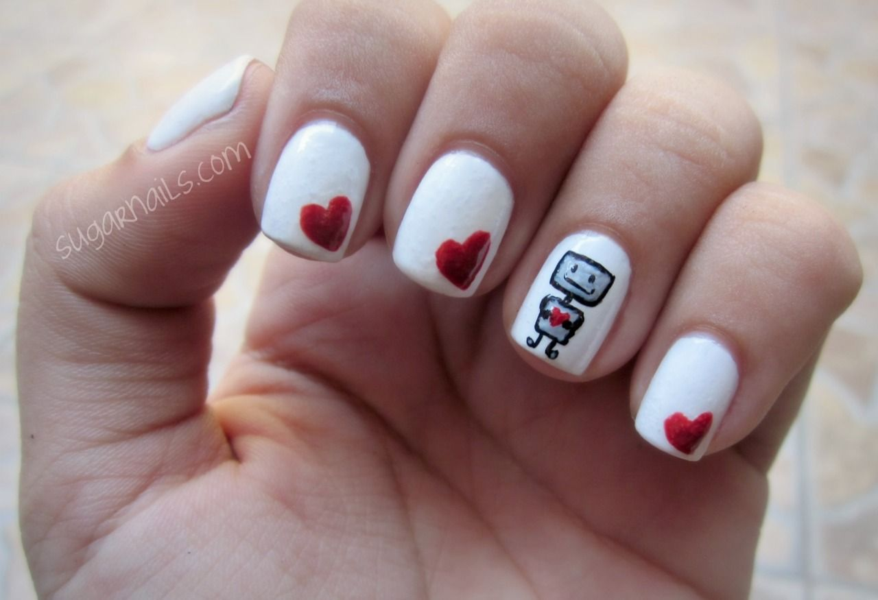 Hey guess what! I\'m obsessed with robots. Okay, Bye. | Like Nails on ...