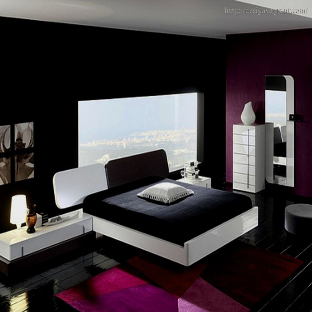 Black White And Red Bedroom Ideas