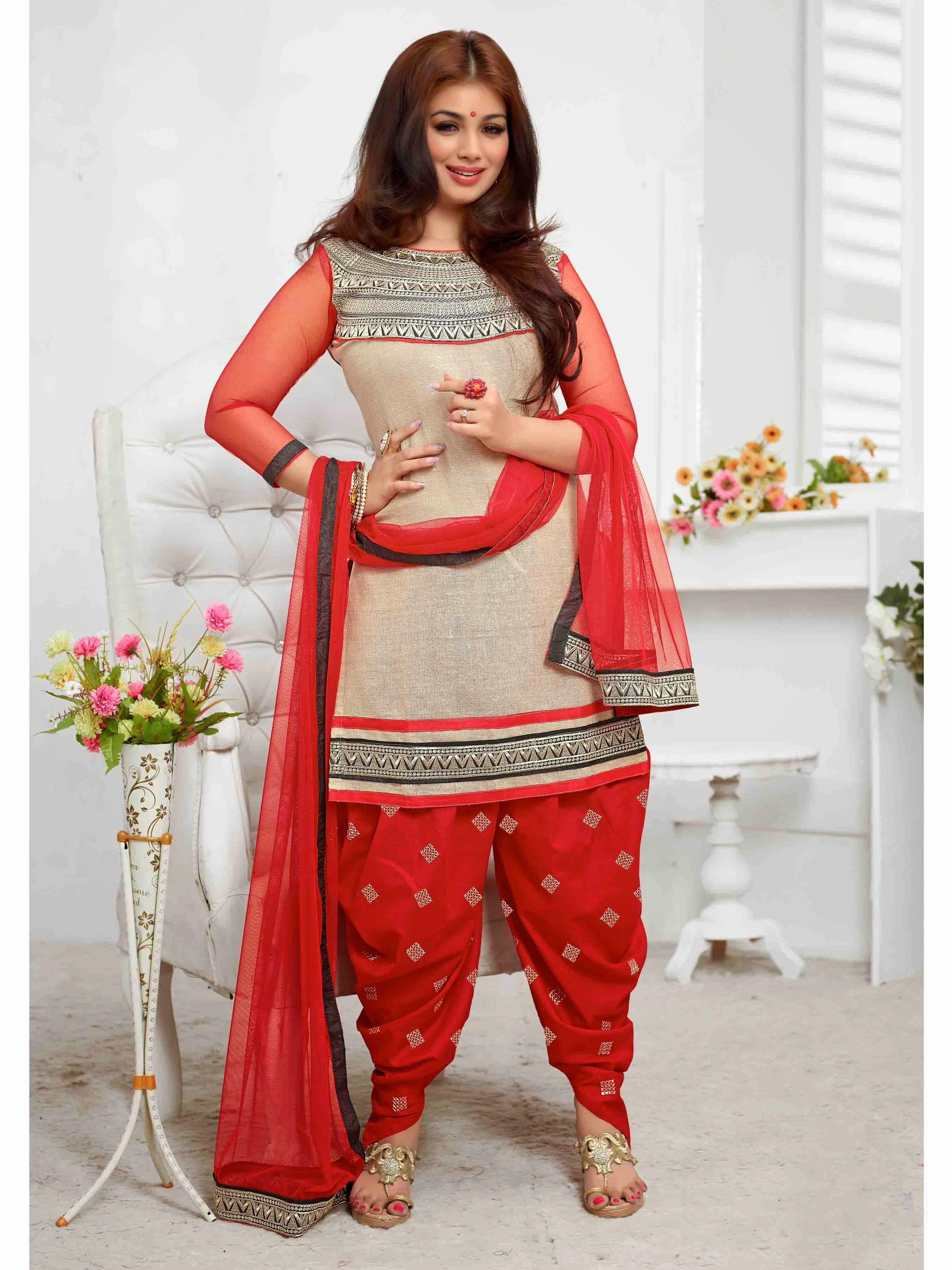 Designer salwar kameez mesmeric peach color net designer suit - 5 Types Of Salwar Kameez To Fit You Surprisingly Well