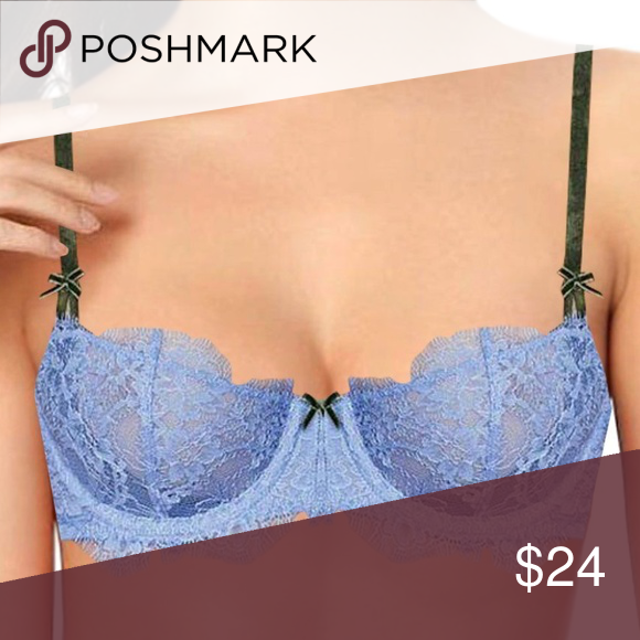94c72e9c6ecee Victoria s Secret Blue Push Up Without Padding Bra From DREAM ANGELS  Collection. Push Up Without