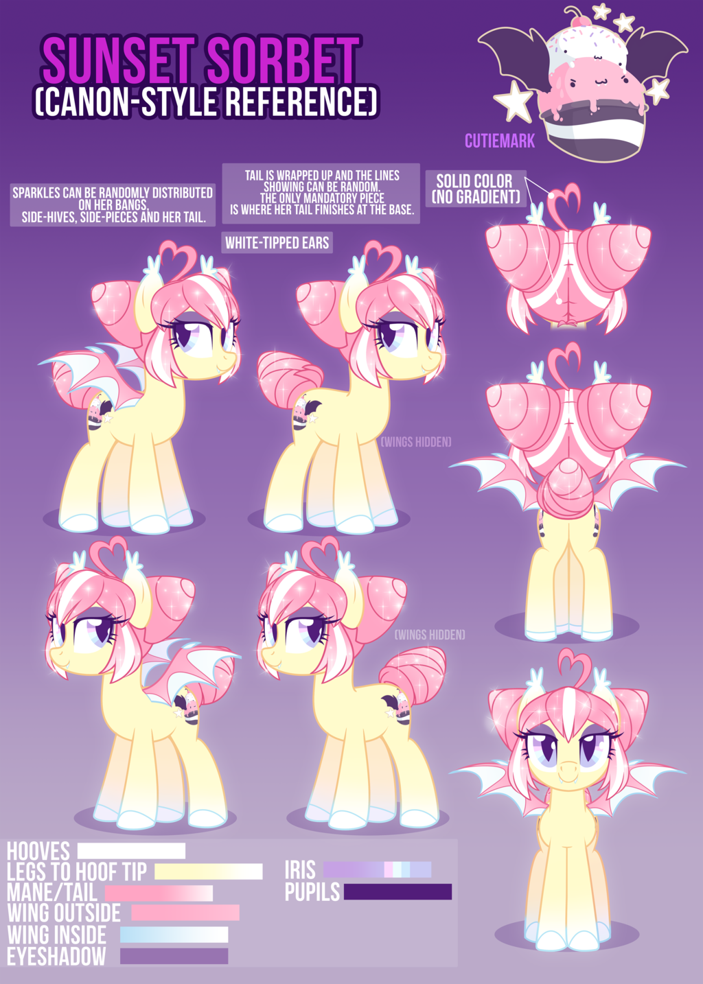 1860240 Artist Zombie Bat Pony Bat Pony Oc Female Mare Oc Oc Only Oc Sunset Sorbet Reference S My Little Pony Characters My Little Pony Drawing Pony