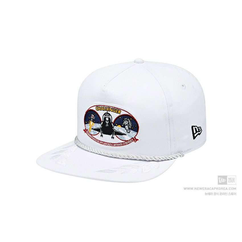 [9FIFTY] New Era GOLFER Retro Snapback 1137451 ISA PATCHES 63 WHT  #NEWERA
