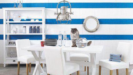 des motifs dinspiration bord de mer la sallesalle de bains - Salle De Bain Inspiration Bord De Mer