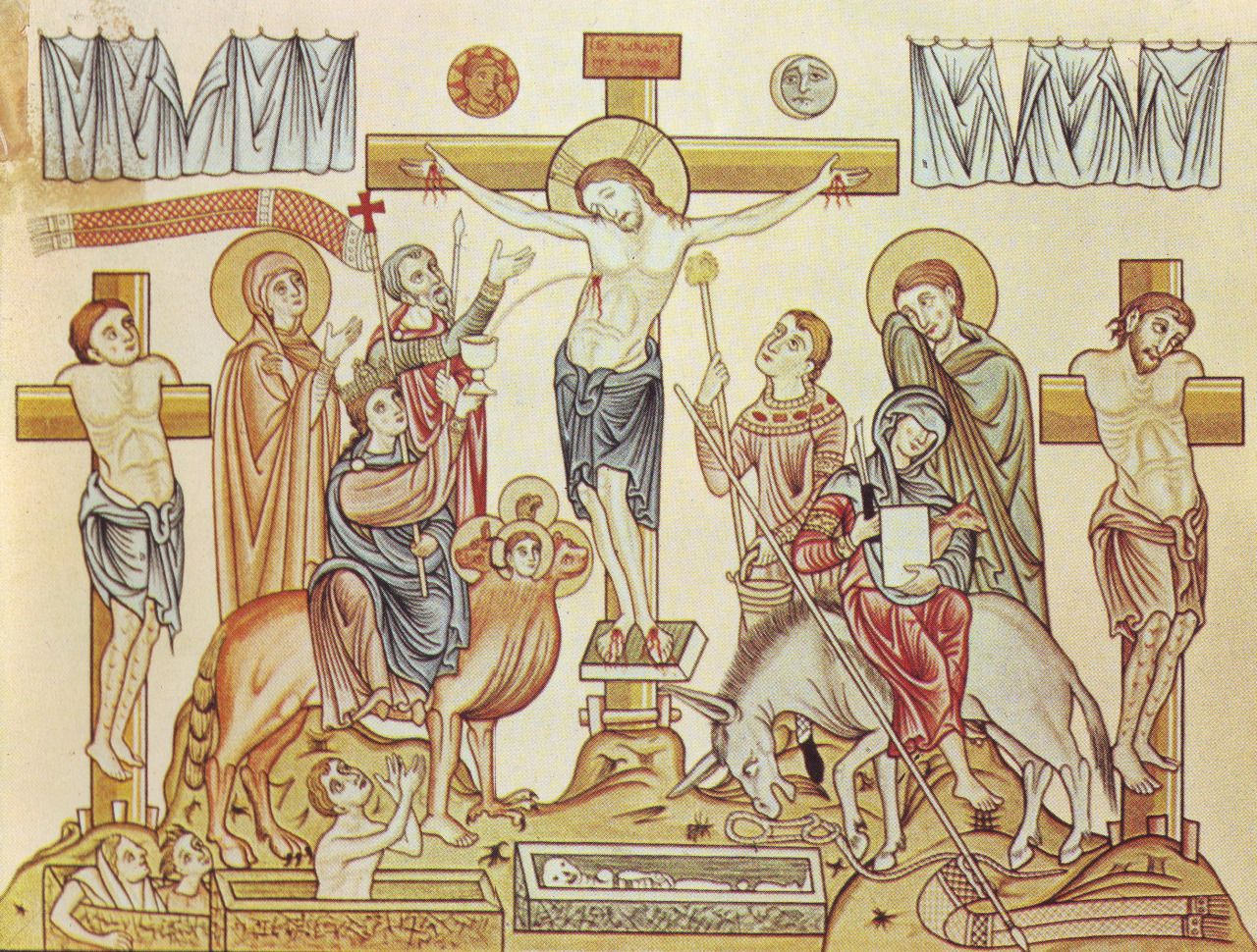 theraccolta crucifixion of jesus of nazareth medieval
