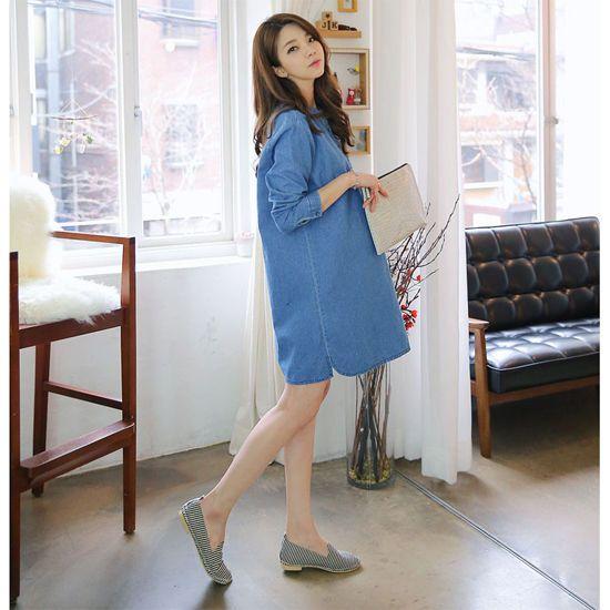 b1f785c066b tomtom-Maternity dress for pregnant woman Pregnancy Clothes Korean style  dress  Unbranded  Casual