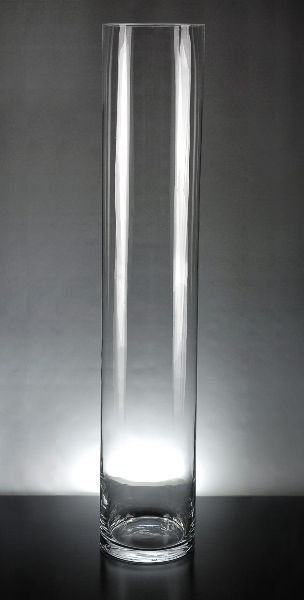 Cityscape Tall Cylinder Vases 6 X 32 Clear Glass In 2018 Chicago
