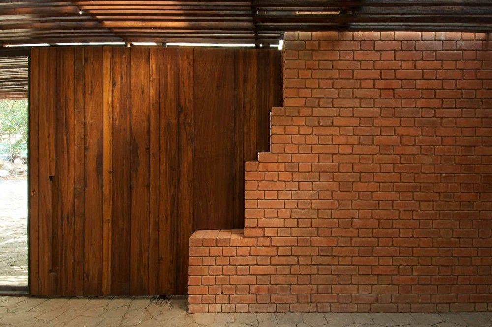Brick house designs in india