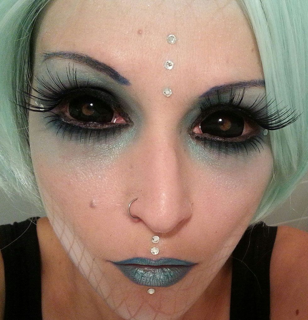 black out contacts halloween - Google Search | costumes ...