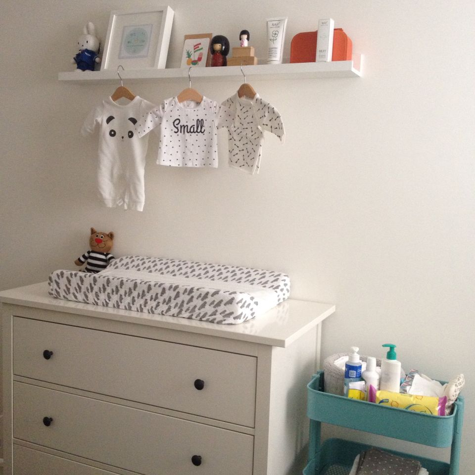 Nursery decoration hemnes dresser raskog trolley ikea Ikea media room ideas