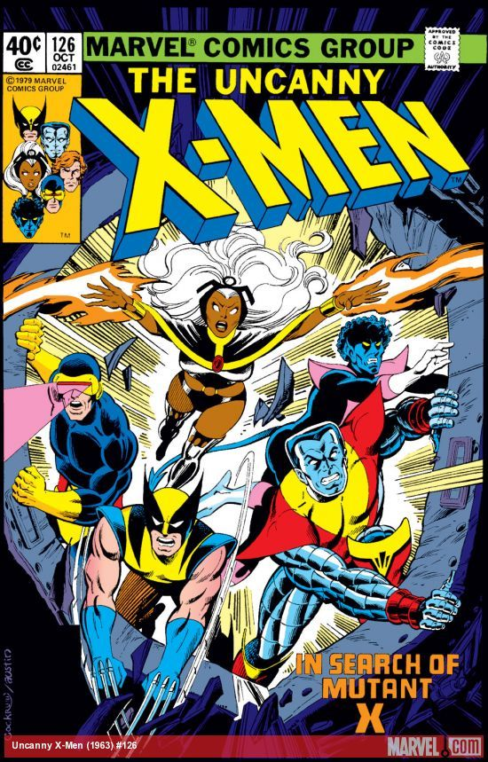 Uncanny X Men 1963 126 Marvel Comics Covers Comic Covers Comic Book Covers