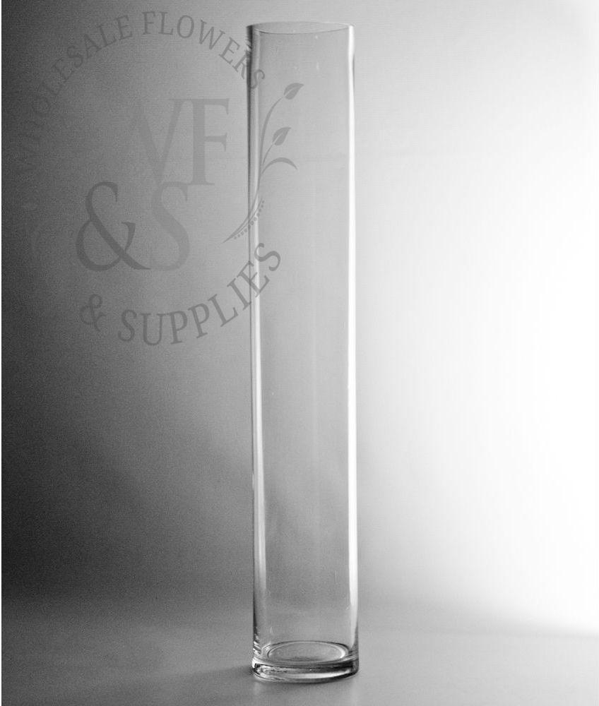 cylinder vase lo x supplies glass florist