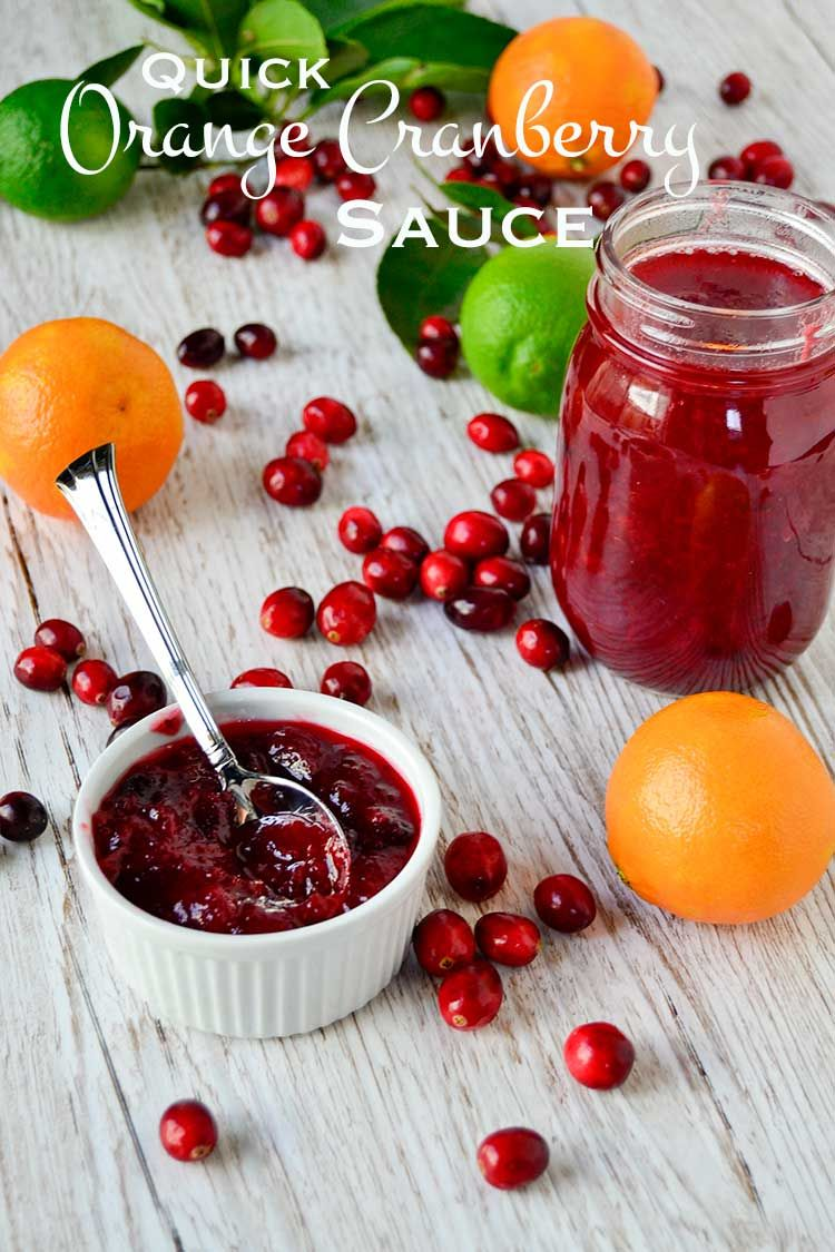 This quick orange cranberry sauce is sweet, tart, and tangy all in one. Ditch the can and make your own sauce from scratch in less than 30 minutes.