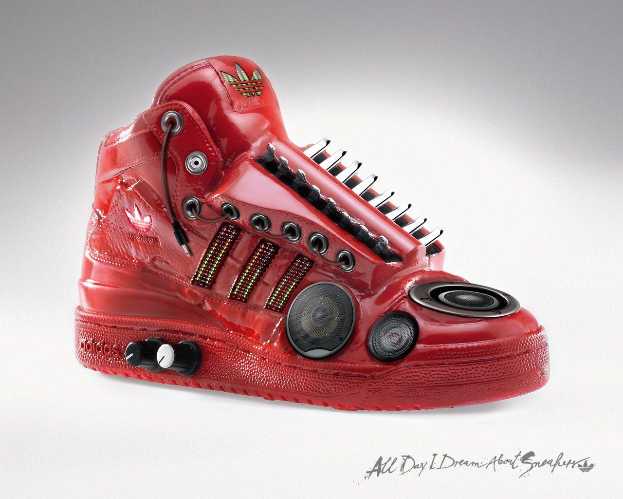 weird adidas trainers