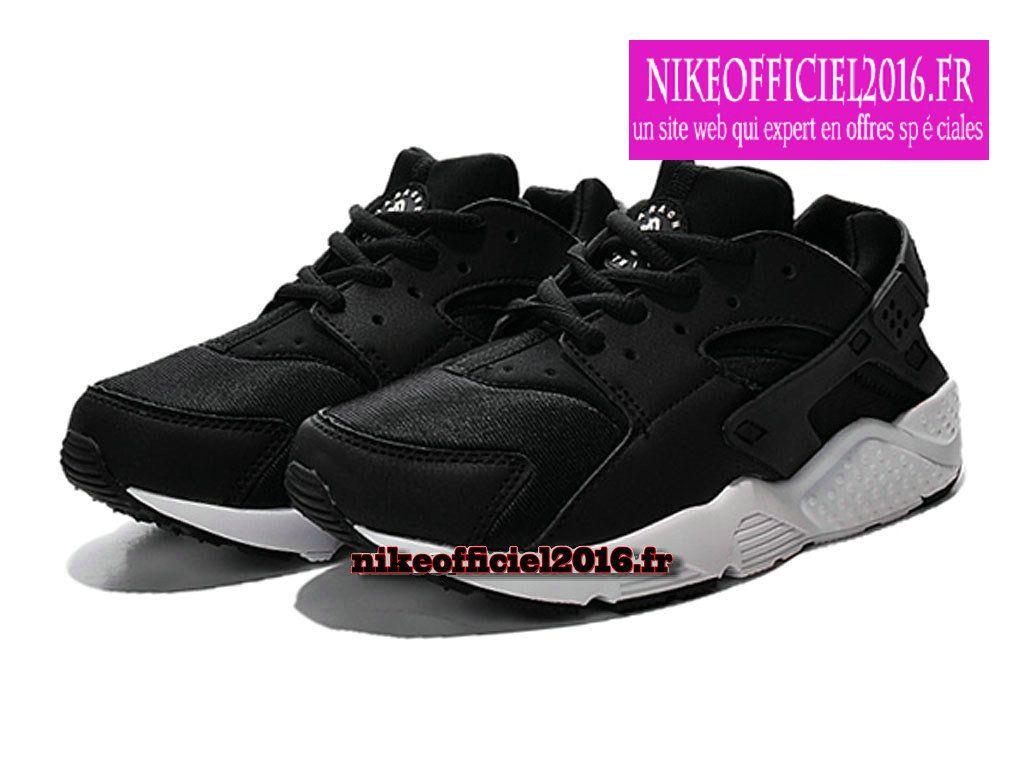 Nike Huarache Run (PS) NoirBlanc 704951 020 Chaussure