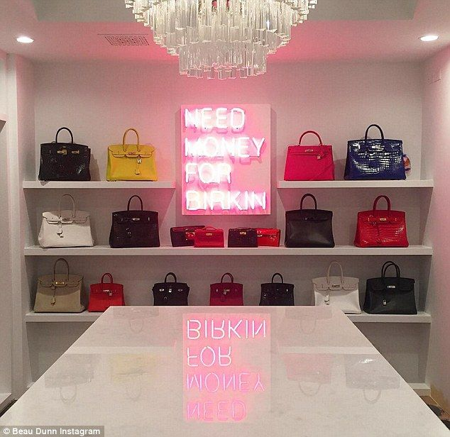 Kris Collection Of Birkin Bags Include Some Full Size Totes