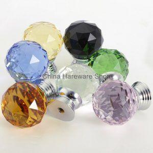 Merveilleux Colored Crystal Door Knobs