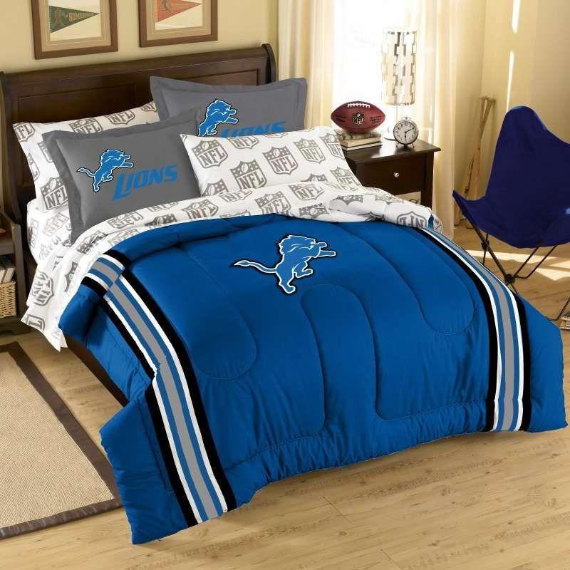 Detroit Lions Nfl Comforter Set Full Comforter Sets Bed
