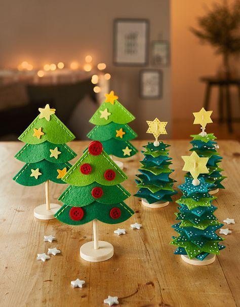 Kinderzimmer Ideen Weihnachten - Christmas kids room decorations #christbaumschmuckbastelnkinder