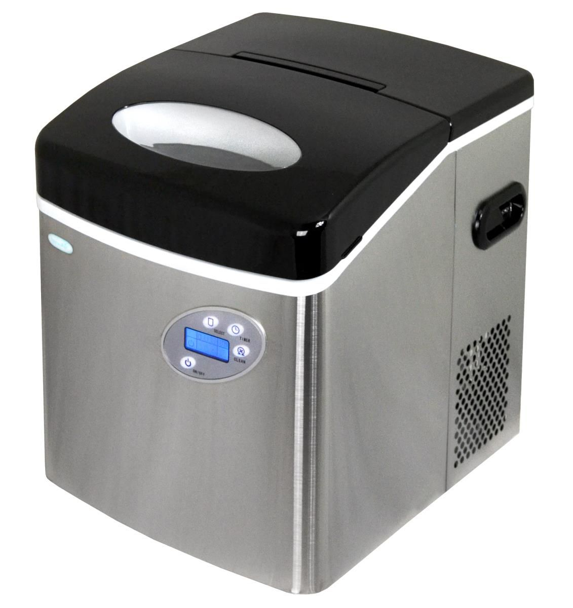 Countertop Ice Maker 50 Lbs Of Ice A Day 3 Ice Sizes
