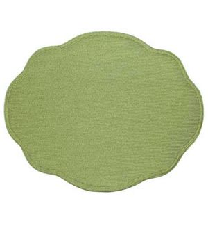 Oval Scallop Placemats Pioneer Linens Woven Placemats Placemats