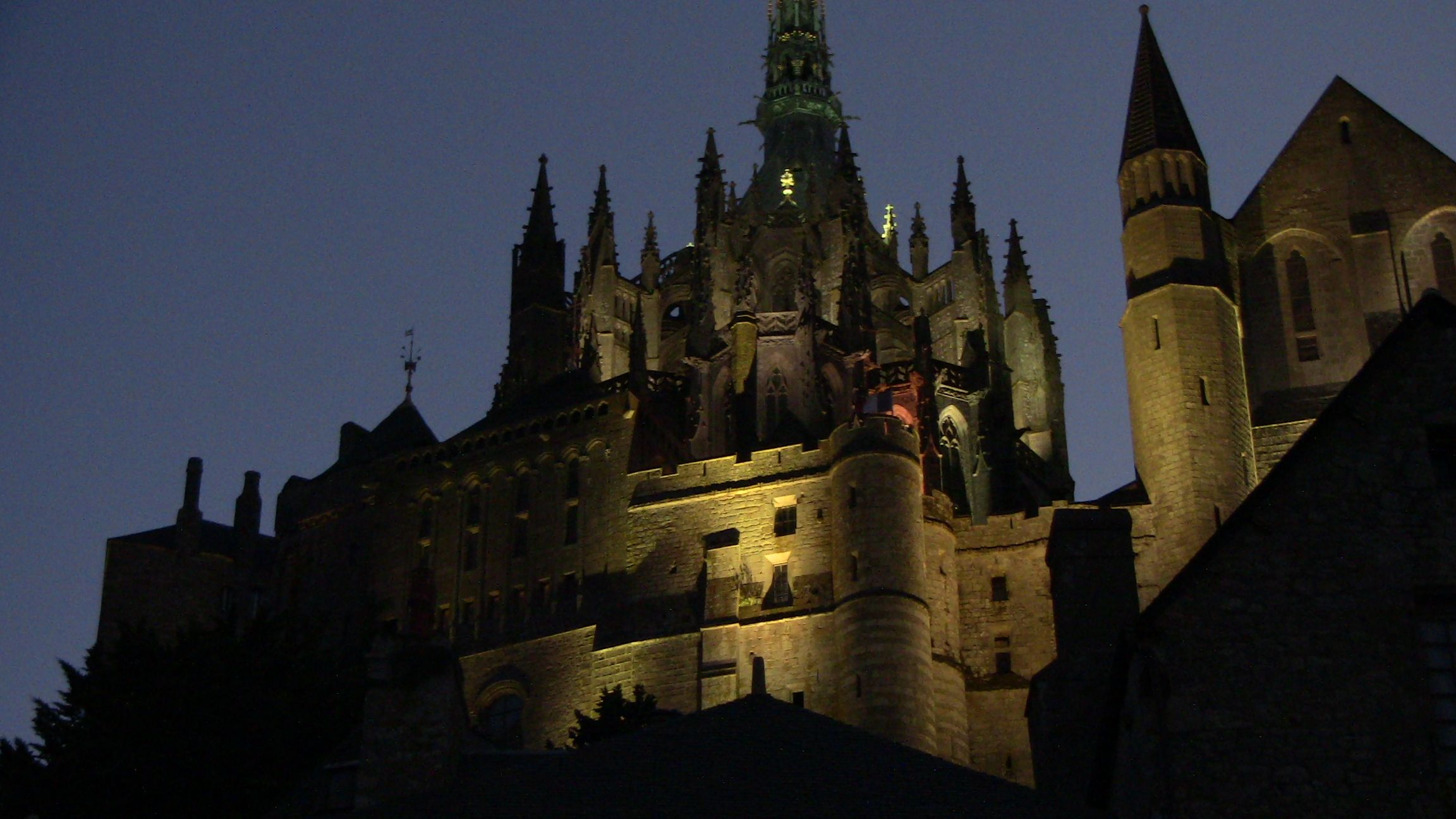 Le Mont St.Michel by night