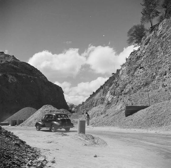 Carretera Vieja Caracas La Guaira 1948.