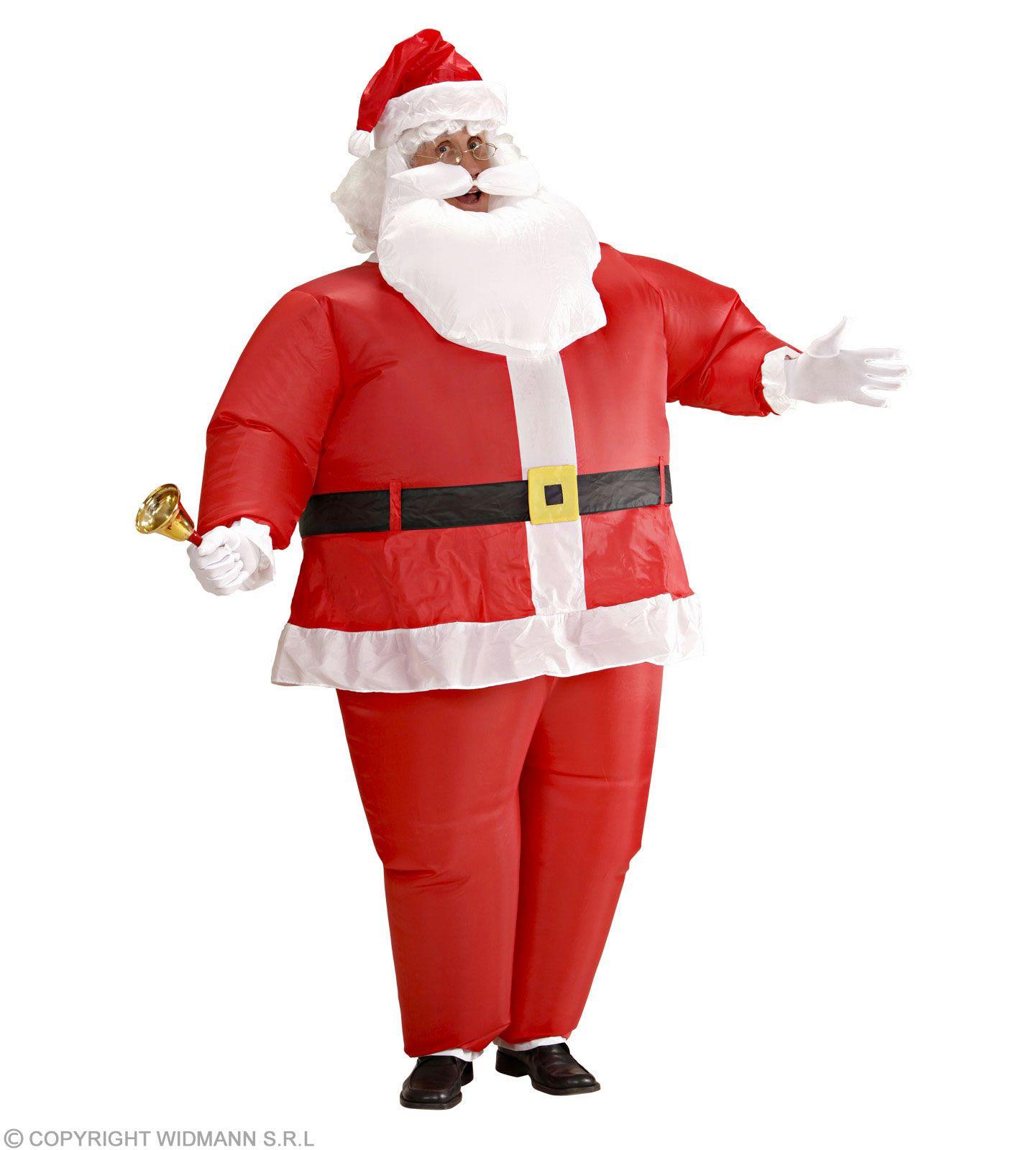 Hose Weihnachtsmann-Kost/üm 5-Teilig Nikolaus Kost/üm Bart G/ürtel Verkjleidung Weihnachtsmann Jacke Weihnachtsmann-M/ütze Kost/üm Christmas